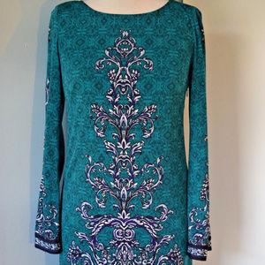 laundry by shelli segal Shift dress teal green 2